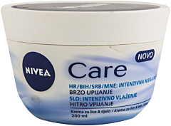 Crema Nivea Care 200 ml