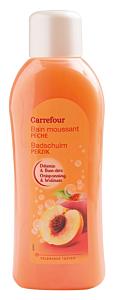 Gel de dus spumant cu parfum de piersici Carrefour 1L