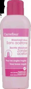 Dizolvant fara acetona Carrefour 200ml
