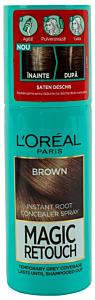 Spray instant pentru camuflarea radacinilor crescute intre colorari 3 Saten  L'Oreal 75ml