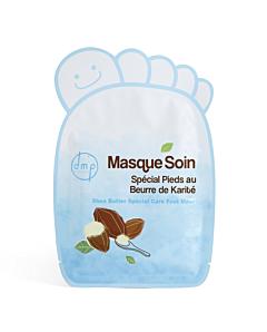 Masca pentru picioare cu unt de karité DMP Provence x 2 bucati
