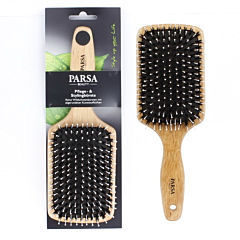 Perie mare cu perii mixte Paddle Parsa Beauty