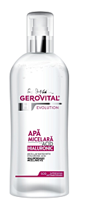 Apa micelara cu acid hialuronic evolution Gerovital H3 150ml