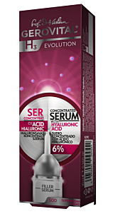 Ser antirid concentrat cu acid hialuronic evolution Gerovital H3 10ml