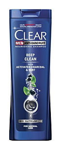 Sampon Men Deep Clean Clear 400ml