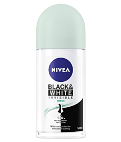 Deodorant roll on Invisible Black&White Fresh Nivea 50ml