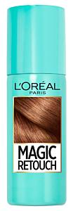 Spray instant pentru camuflarea radacinilor crescute intre colorari 2 Saten inchis L'Oreal Paris Magic Retouch 75ml