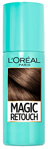 Spray instant pentru camuflarea radacinilor crescute intre colorari 7 Saten rece  L'Oreal Paris Magic Retouch 75 ml