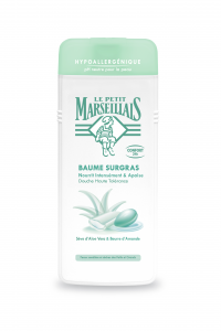 Gel de dus Hipoalergenic Surgras cu extract de Aloe Vera & Unt de Migdale 400ml Le Petit Marseillais