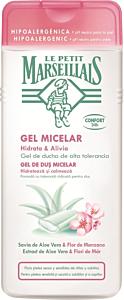 Gel de dus micelar cu extract de Aloe Vera & Flori de Mar 400ml Le Petit Marseillais