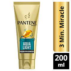 Balsam Pantene Pro-V Aqualight 3 Minute Miracle, 200 ml