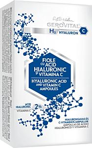 Fiolele cu acid hialuronic hyarulon-c Gerovital H3 10x2ml