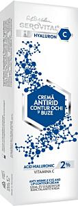 Crema antirid ochi si buze hyarulon-c Gerovital H3 15ml