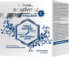 Crema antirid de noapte hyarulon-C Gerovital H3 50ml