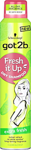 Sampon uscat Got2B Extra Fresh 200 ml