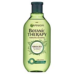 Sampon pentru par normal cu tendinta de ingrasare cu ceai verde, eucalipt&portocala Garnier Botanic Therapy 400ml