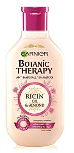 Sampon pentru par fragil cu tendinta de cadere cu ulei de ricin si migdale Garnier Botanic Therapy 400ml
