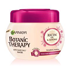 Masca pentru par fragil cu tendinta de cadere cu ulei de ricin&migdale Garnier Botanic Therapy 300ml
