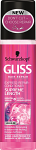 Balsam spray pentru par supreme length Schwarzkopf Gliss 200 ml