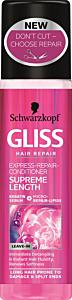Balsam spray pentru par supreme length Schwarzkopf Gliss 200 ml