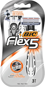 Aparat ras Bic Flex 5 , 3 buc