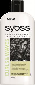 Balsam pentru par ondulat si carliontat curls & waves Syoss 500 ml