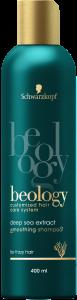 Sampon pentru netezire Schwarzkopf Beology 400 ml