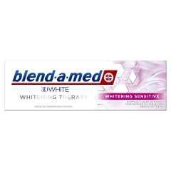 Pasta De Dinti 3D Whitening Therapy Sensitive, 75 ml Blend-a-med