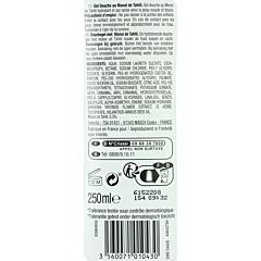 Gel de dus hidratant cu ulei de Monoi de Tahiti Carrefour 250ml