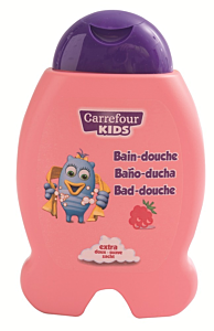 Gel dus /sampon copii zmeura Carrefour Kids 300ml