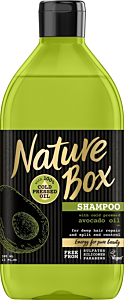 Sampon cu ulei de avocado pesat la rece Nature Box 385 ml