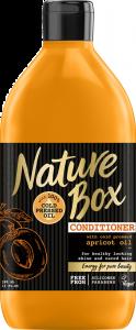 Balsam cu ulei de piersica presat la rece Nature Box 385 ml