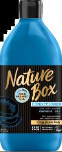 Balsam ulei de nuca de cocos presat la rece Nature Box 385 ml