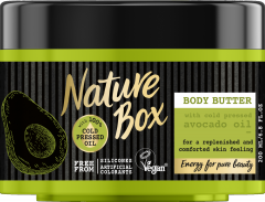 Scrub cu ulei de avocado Nature Box 200 ml