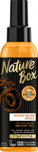 Ulei de corp cu piersica Nature Box 150 ml