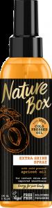 Ulei de corp cu piersica Nature Box 150 ml