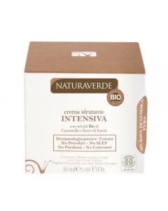 Crema de fata bio hidratanta cu extract de melc si musetel  50ml  NaturaVerde Bio