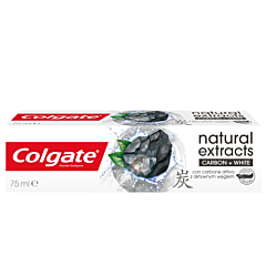 Pasta de dinti Colgate Natural Extracts Charcoal 75ml