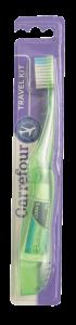 Periuta de dinti pliabila si pasta de dinti 5ml Carrefour