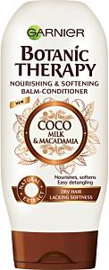 Balsam pentru par uscat lipsit de suplete Coco Milk&Macadamia Garnier Botanic Therapy 250ml