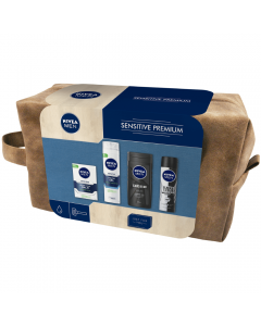 Set cadou sensitive premium Nivea Men