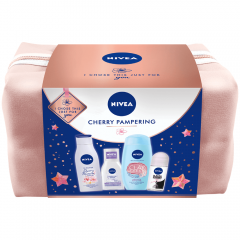 Set cadou cherry pampering Nivea