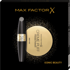 Set cadou Mascara False Lash Effect Max Factor 13ml + Pudra Crème Puff Max Factor 21g