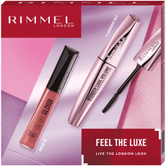 Set cadou Rimmel: Rimmel Wonder'Luxe Mascara 11ml si Luciu de buze Rimmel Oh My Gloss 6.5ml