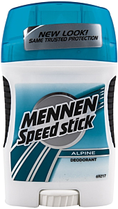 Stick anti-perspirant Mennen Speed Stick Alpine