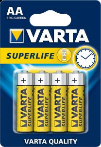 Baterii alcaline Varta SuperLife AA(R6) set 4bucati
