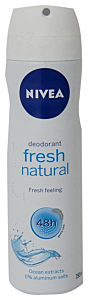Antiperspirant spray fresh natural Nivea 150ml