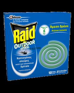 Spirale anti-tantari Raid 10buc