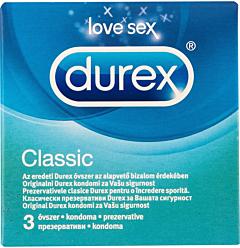 Prezervative Clasice 3 B Durex