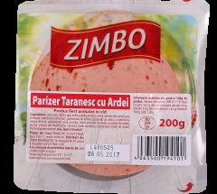 Parizer taranesc cu ardei Zimbo Family 200g